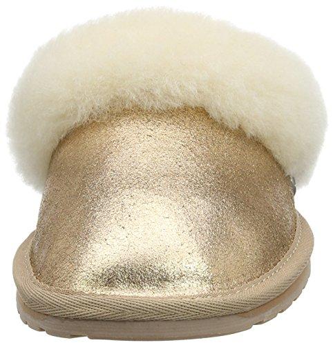 Emu Metallic Pantofole Emw11485rogo Donna Oro jolie Jolie Metallic 4T7cfqw64