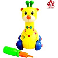 AdiChai Giraffe Disassembly and Assembly Play Toy Kit for Kids Baby Early Learning Puzzle Educational Toys The Intellectual Development of Children Ages 3+ (Random)