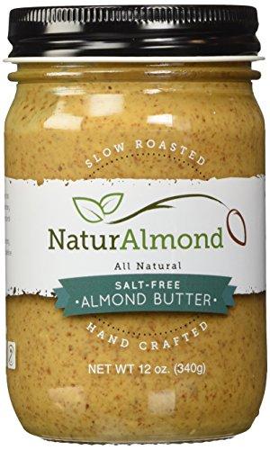NaturAlmond Almond Butter, Salt Free