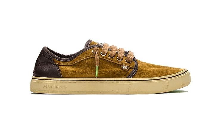 Satorisan - Zapatillas de Piel para Hombre Marrón marrón EU 45 Marrón Size: EU 43: Amazon.es: Zapatos y complementos