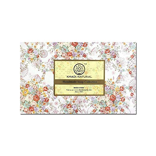 Khadi Natural Herbal Ayurvedic Handmade Soap Selection 12 Pack Perfect for Gifts (300 g) (Best Soap For Psoriasis In India)