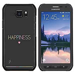 Dragon Case - FOR Samsung Galaxy S6 active/G870A/G890A (Not Fit S6) - ?the other person is right - Caja protectora de pl??stico duro de la cubierta Dise?¡Ào Slim Fit