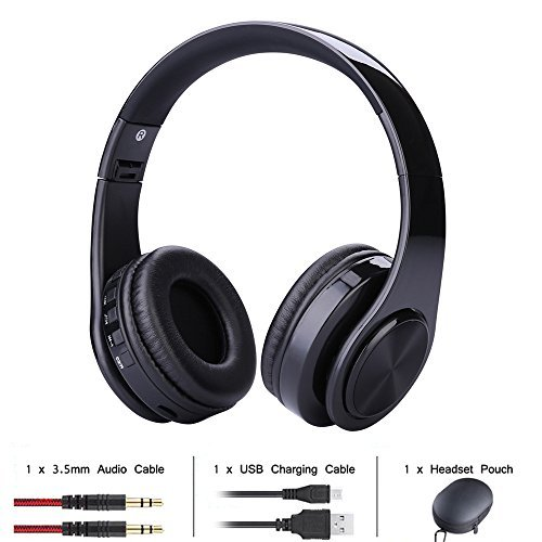 Wireless Bluetooth Headset, MMHDZ Gaming Headphones, Wireless Rechargeable, Support Plug-in Card PC, Phone (PC/Mac / Mobile/VR / PSP)