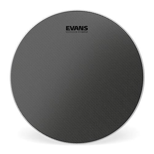 Evans Hybrid Coated Snare Batter Drum Head, 14 Inch (Best Snare Batter Head)