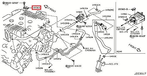 infiniti fuel tank pressure sensor  fuel tank pressure