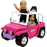 "Doll Car, 4x4 Doll Beach Cruiser for 18 Inch Dolls Like American Girl, Fits Two 18"" Dolls. Dolls and Doll Clothes and Doll Boogie Board Not Included"