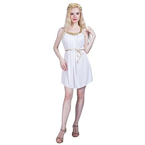 EraSpooky Disfraz de Diosa Griega Antigua para Mujer Disfraz de ...