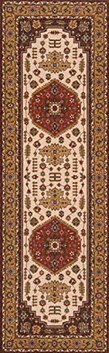 Momeni Rugs PERGAPG-03COO2680 Persian Garden Collection, 100% New Zealand Wool Traditional Area Rug, 2'6