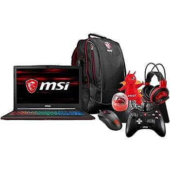 """MSI GP63 Leopard-041 (i7-8750H, 16GB RAM, 128GB SATA SSD + 1TB HDD, NVIDIA GTX 1050Ti 4GB, 15.6"""" Full HD, Windows 10) Gaming Notebook"""