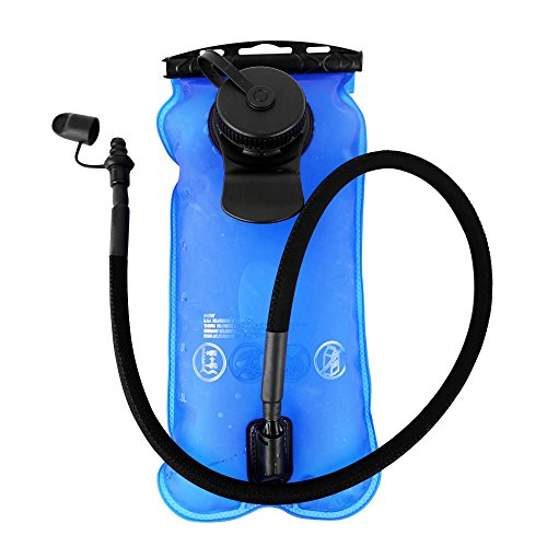 Artisanates Hydration Bladder, 3 Liter Water Bladder for Hydration Backpack, FDA Approved, BPA-Free, Dual Opening by Artisanates