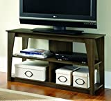 Ashley Furniture Signature Design - Frantin TV Stand - 42in with 2 Cubbies and 1 Fixed Shelf - Vintage Casual - Brown