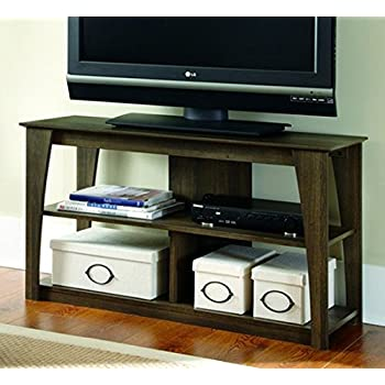 ashley furniture signature design frantin tv stand 42in with 2 cubbies and 1 fixed