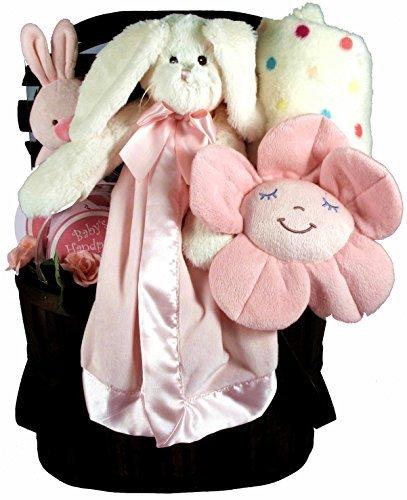 Gift B07N4M6YBJ Basket Village Gift Some Bunny 7 Loves You Baby Girl Gift Basket with Security Blanket 7 Pound [並行輸入品] B07N4M6YBJ, たばき ギフト館:f75a5691 --- ijpba.info