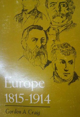 Europe, 1815-1914