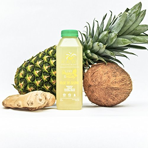 5 Day Juice Cleanse by Raw Fountain Juice - 100% Fresh Natural Organic Raw Vegetable & Fruit Juices - Detox Your Body in a Healthy & Tasty Way! - 30 Bottles (16 fl oz) + 5 BONUS Ginger Shots by Raw Threads (Image #6)