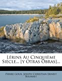 img - for L rins Au Cinqui me Si cle... [y Otras Obras]... (French Edition) book / textbook / text book