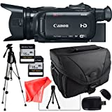 Canon XA30 Camcorder + Camera Case, Full Size Tripod,Two Memory Cards,Table Top Tripod, lens cleaning kit and Lcd Screen Protector,SD Reader
