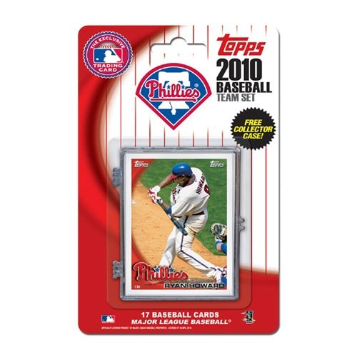 Philadelphia Phillies Mlb Card (MLB Philadelphia Phillies 2010 Team)