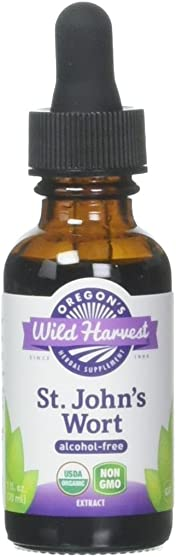 Oregon s Wild Harvest Fresh Organic St. John s Wort Extract, 1 Fluid Ounce