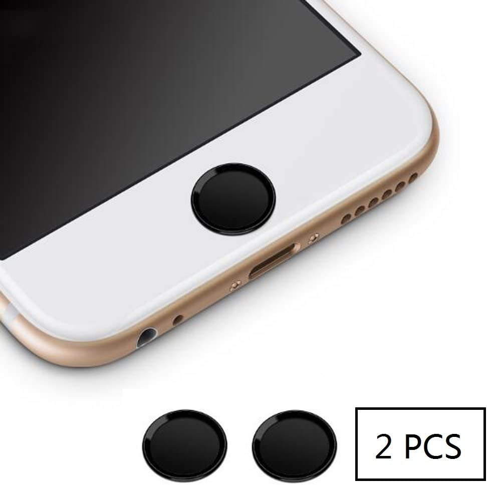 2 Pcs Home Button Sticker for IPhone 7 6S 6 Plus 5 5s IPad Fingerprint Touch ID