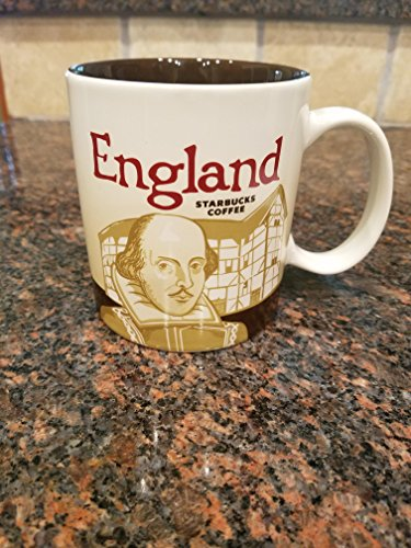 England (Shakespeare) Uk Starbucks Global Icon Mug 16-oz. NEW