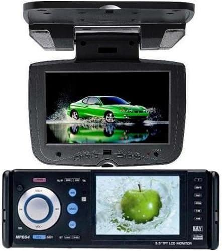 Redpower 993DVD para Coche de DVD y CD de Coche con Reproductor de MP3 MP4 8,89 cm Full sintonizador de TV con Pantalla panorámica LCD JEJA-7080 17,78 cm para el Techo TV/Monitor: