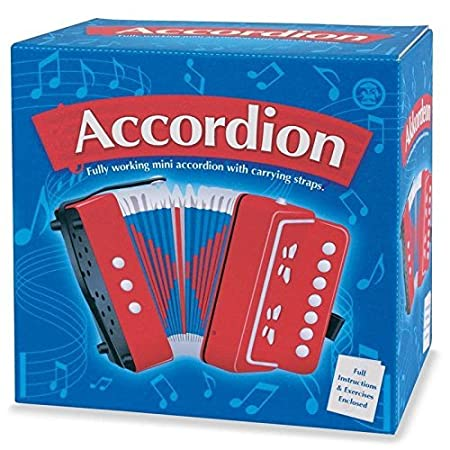 Tobar Accordion Musical Instruments Toy 5038728018699