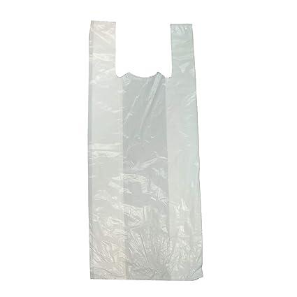 Pampols Bolsas Camiseta LDPE 40X60 G-150 Blanca (Pack de 100 ...
