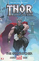 Collects Thor: God of Thunder #1-5.  In the distant past, Thor follows the bloody wake of murdered gods. In the present, the Thunder God discovers a forgotten cave that echoes with the cries of tortured gods! And thousands of years from now, ...