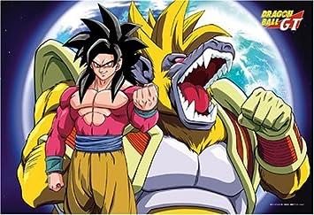 108 Piece Dragon Ball GT Super Saiyan 4 Goku VS Baby monkey jump 108-L128  by ensky: Amazon.it: Giochi e giocattoli