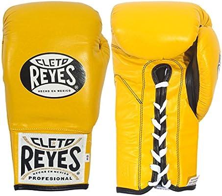 Cleto Reyes Safetec Professional Boxing Fight Gloves Black