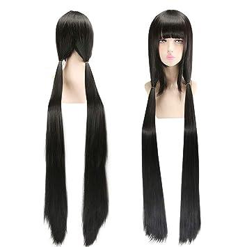 Danganronpa V3 Harukawa Maki Cosplay Costume Top+Skirt School Uniform Black Wig