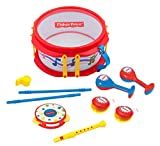 Instrumentos Musicales Best Deals - Fisher-Price Musical Band Drum Set