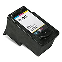 NUINKO Remanufactured Canon CL-241 Ink Cartridge Color for Canon PIXMA MG3220 PIXMA MG3520 PIXMA MX452 PIXMA MG2220 PIXMA MG3222 PIXMA MX472 PIXMA MG2120 PIXMA MX522 PIXMA MX459 PIXMA MG3522 PIXMA MX432 PIXMA MX512 PIXMA MG3122 PIXMA MX392 PIXMA MG4220 PIXMA MG3120 PIXMA MX532 PIXMA MX479 Inkjet Printers