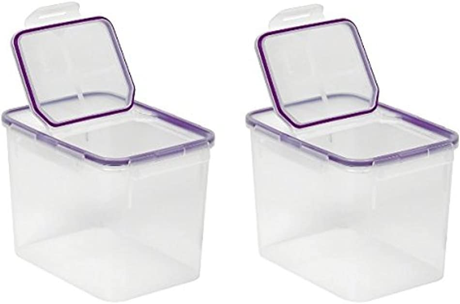 Snapware 17-Cup Airtight Flip Storage Container, Plastic 2Pack