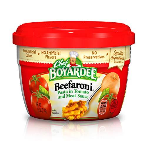 Chef Boyardee Beefaroni Pasta, 7.5 Oz. (Pack of 12)