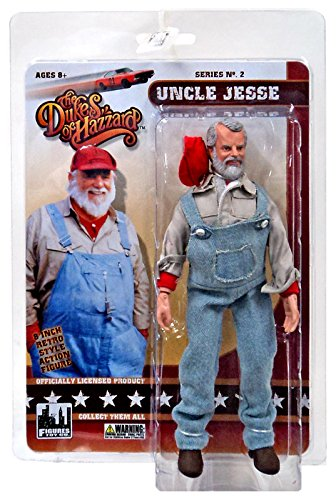 "The Dukes of Hazzard Series 2 Uncle Jesse 8"" Action Figure"