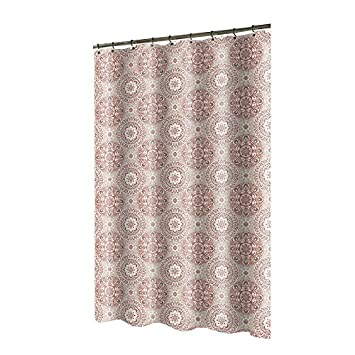 Polyester Spice Patterned Shower Curtain