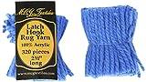 Latch Hook Rug Yarn  -Blue