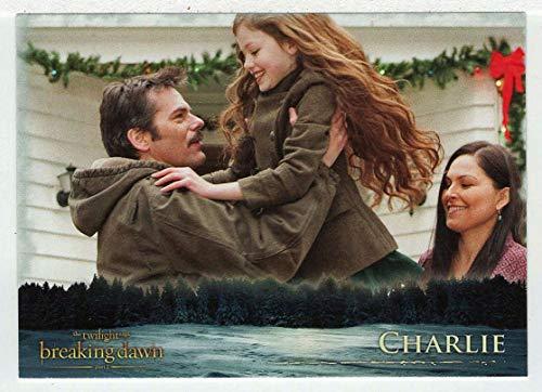 Charlie (Trading Card) The Twilight Saga - Breaking Dawn Part 2-2012 NECA # 38 - Mint (Twilight Trading Cards)