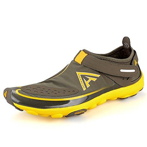 Humtto Unisexe Athlétique Chaussures Deau Homme Et Femmes Nagent Marchant Lac Plage Chaussures De Canotage 1327 Kaki