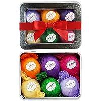 6 Vegan Essential Oil Natural Lush Fizzies Spa Kit Organic Bath Bomb Gift Set