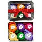 Bath Bombs Gift Set - USA Made - Lush...