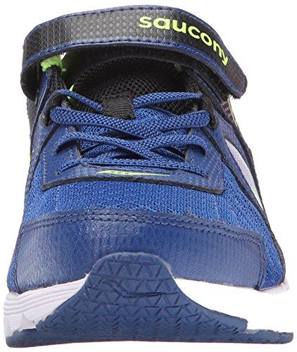 Saucony Kotaro 3 Alternative Closure Sneaker (Little Kid/Big Kid), Blue/Black/Citron, 12 W US Little Kid Photo #9