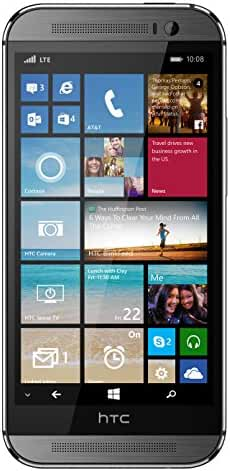 HTC One M8 for Windows, Gunmetal Grey 32GB (AT&T)