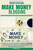 img - for Make Money Blogging: Proven Strategies and Tools, Step-by-step Guide to Making Money Consistently With Your Blog While Working From Home book / textbook / text book