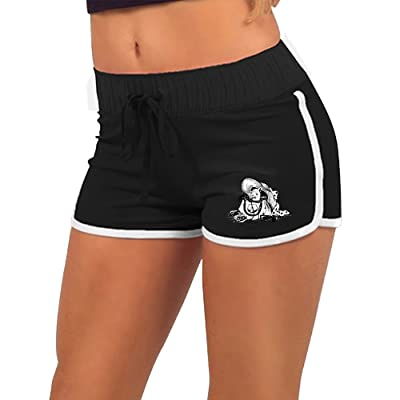 Donyoung Woman Dog In Bag Lady's Bag Cute Dog Novelty Graphic Comfortable Workout Shorts Yoga Shorts