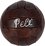 Pele Autographed Leather Vintage Soccer Ball - Fanatics Authentic Certified - Autographed Soccer Balls