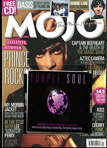 MOJO Magazine & FREE CD SEALED APRIL 2014, PRINCE Oasis Ronnie Lane Soul. ()