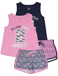 Delia de 2-Pack pijamas de las niñas Pajama Short Set (2juegos completos)